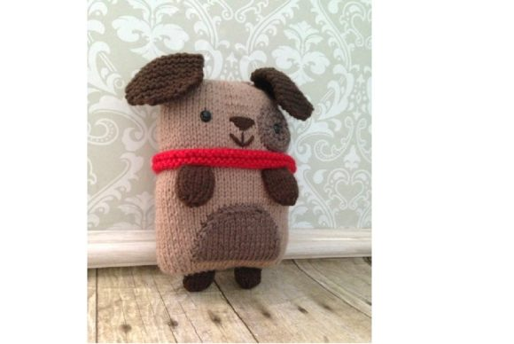 Knit Puppy Pattern Graphic Knitting Patterns By Amy Gaines Amigurumi Patterns - Image 4