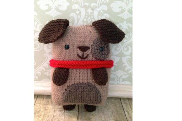 Knit Puppy Pattern Graphic Knitting Patterns By Amy Gaines Amigurumi Patterns - Image 5
