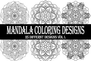 Print on Demand: Mandala Coloring Designs Graphic Coloring Pages & Books Adults By Gurus Kdp Templates