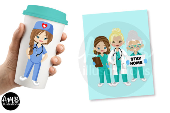 Paramedic Clipart 2806 Graphic Download