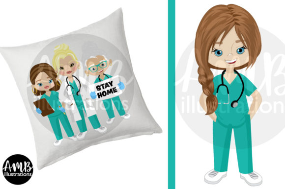 Paramedic Clipart 2806 Graphic Illustrations By AMBillustrations - Image 3
