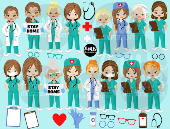 Paramedic Clipart 2806 Graphic Design