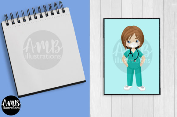 Paramedic Clipart 2806 Graphic Preview