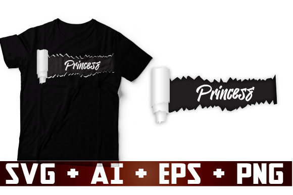 Princess Graphic Crafts By ShirtGraphic