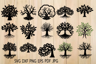 Print on Demand: Tree of Life, Trees, Tree Roots   Graphic Crafts By yulnniya