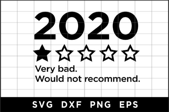 2020 Would Not Recommend Graphic Crafts By spoonyprint