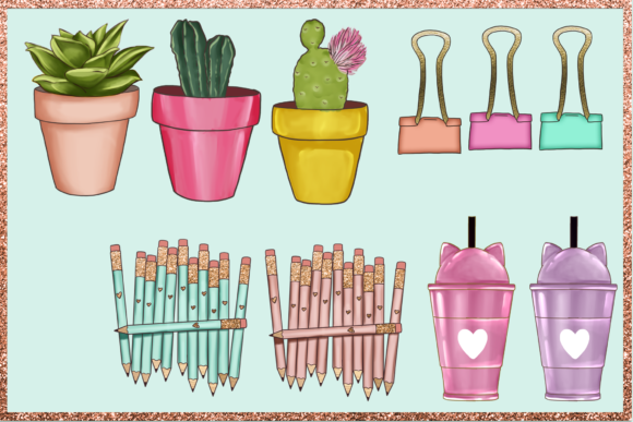 Print on Demand: Arts & Crafts Clipart Set Graphic Illustrations By TheGGShop - Image 4