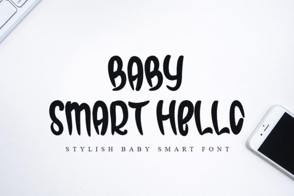 Print on Demand: Baby Smart Hello Script & Handwritten Font By K_IN Studio
