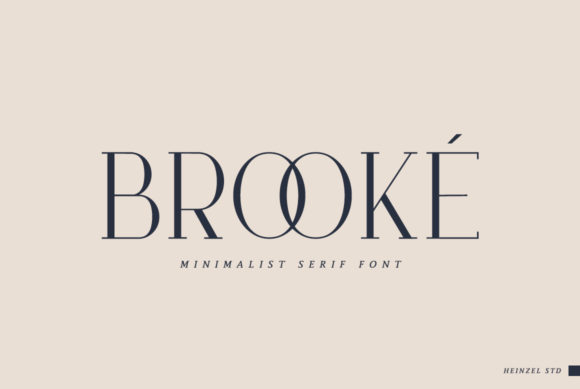Print on Demand: Brooké Serif Font By Heinzel Std