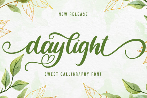 Print on Demand: Daylight Script & Handwritten Font By Fallengraphic