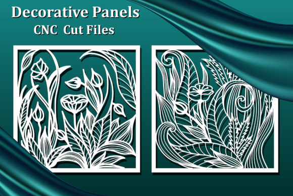 Decorative Panels, Laser Cut Files Graphic Crafts By AmarylleArt