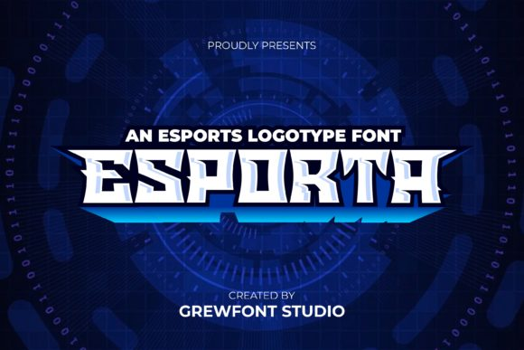 Print on Demand: Esporta Display Font By grewfont.studio