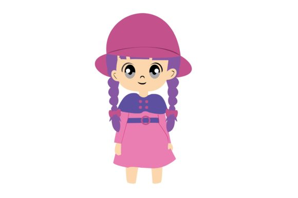 Girl Chibi Character Vector 31 Graphic Illustrations By harunikaart