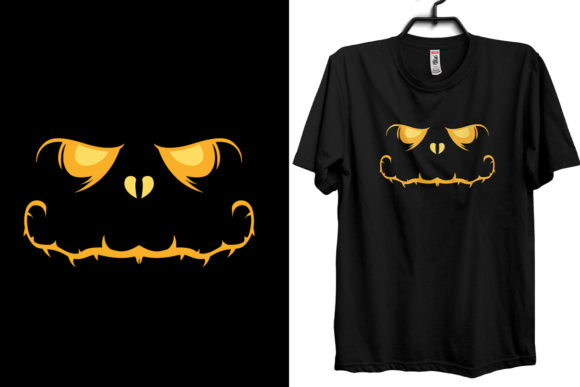 Halloween Mouth T-shirt Design Template Graphic Print Templates By Storm Brain