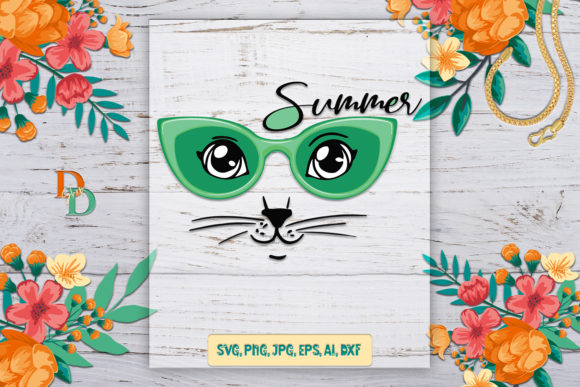 Hello Summer, Summer Digital Images Graphic 3D SVG By denysdigitalshop