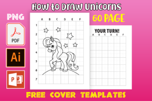 Print on Demand: How to Draw Unicorn | KDP Interior Graphic KDP Interiors By MK DESIGNS