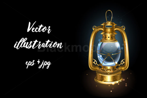 Kerosene Lantern Graphic Illustrations By Blackmoon9