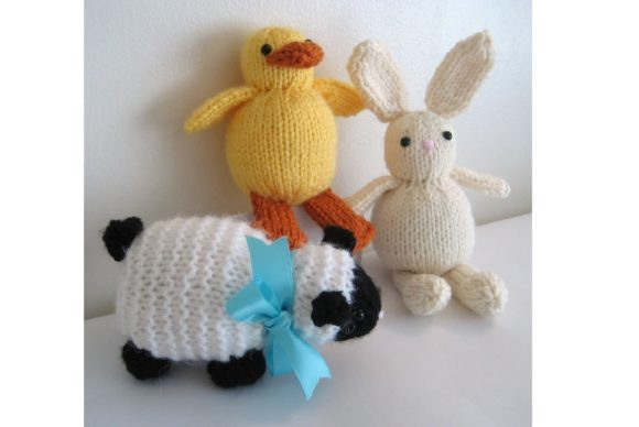 Knit Easter Trio Pattern Graphic Knitting Patterns By Amy Gaines Amigurumi Patterns - Image 3