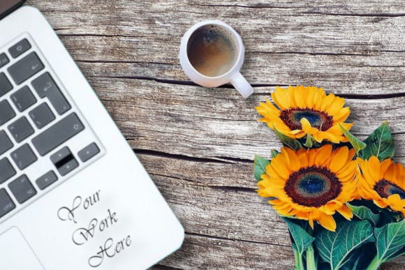 Mockup , Logo Mockups, Sunflower Graphic Product Mockups By MockupsByGaby