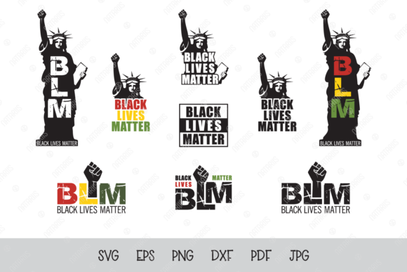 Black Lives Matter Bundle Graphic Crafts By Natariis Studio