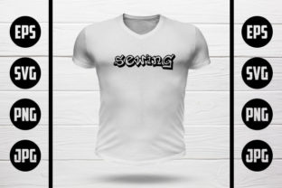Sewing T-Shirt Design Graphic Crafts By MY Creatives