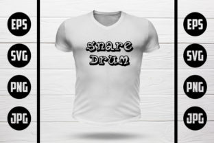 Snare Drum T-Shirt Design Graphic Crafts By MY Creatives