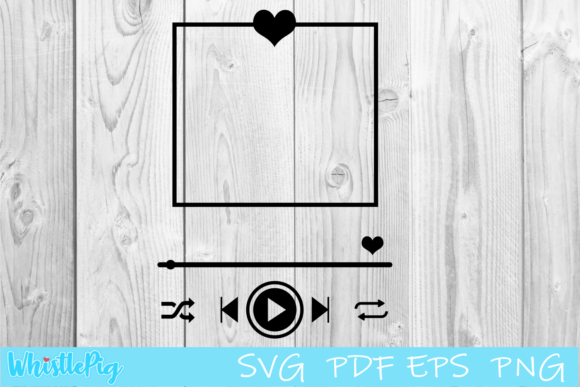 Print on Demand: Song Art Music Player Custom Song Graphic Crafts By Whistlepig Designs