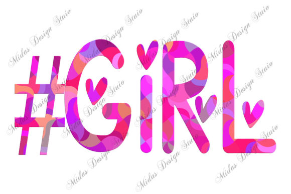 Sublimation - #girl Graphic Illustrations By MidasStudio