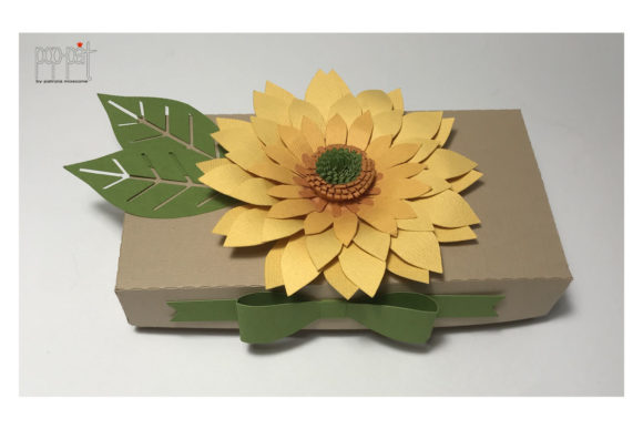 Sunflower Graphic 3D SVG By patrizia.moscone - Image 2