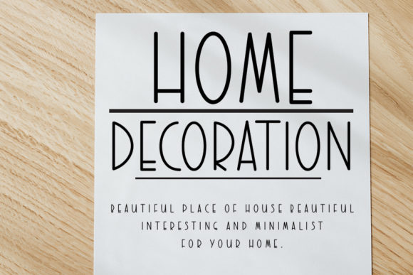 Sweet Home Font Download