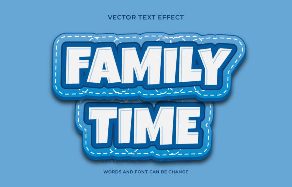 Text Effect Editable - Fresh Water Graphic Add-ons By aalfndi