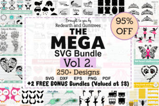 The Mega Bundle Design Volume 2 Graphic Crafts By redearth and gumtrees