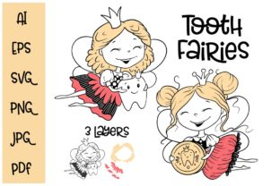 Tooth Fairies Graphic Crafts By nicjulia
