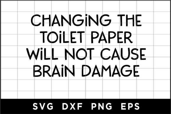 Will Not Cause Brain Damage Graphic Crafts By spoonyprint