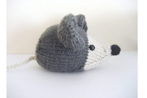 Amigurumi Knit Little Mouse Pattern Graphic Knitting Patterns By Amy Gaines Amigurumi Patterns