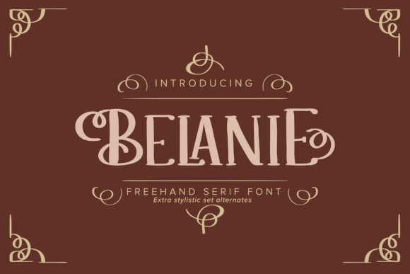 Print on Demand: Belanie Serif Font By Vunira