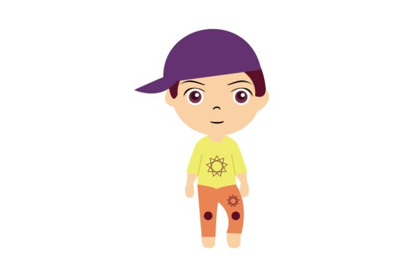 Boy Chibi Character Vector 30 Graphic Illustrations By harunikaart