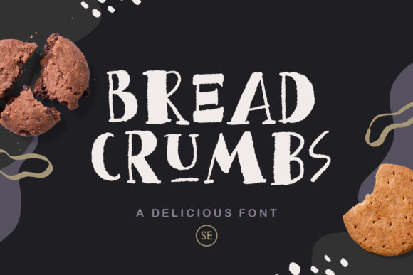 Print on Demand: Bread Crumbs Display Font By saridezra