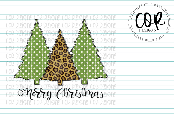 Print on Demand: Christmas Tree Trio Graphic Crafts By designscor