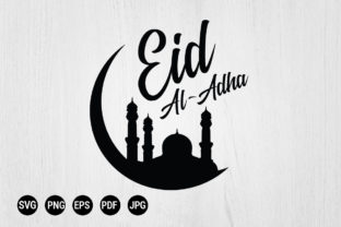 Print on Demand: Eid Al-Adha Muslim Arabic Holy Holiday Graphic Print Templates By 99SiamVector