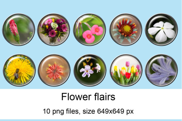 Print on Demand: Flower Flairs Graphic Crafts By Andrea Kostelic