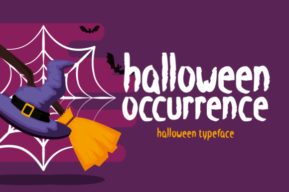 Print on Demand: Halloween Occurrence Display Font By Seemly Fonts