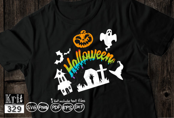 Halloween Tomb Graphic Crafts By Krit-Studio329