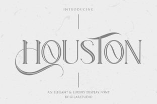 Print on Demand: Houston Serif Font By Gilar Studio
