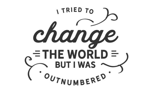Print on Demand: I Tried to Change the World Graphic Illustrations By baraeiji