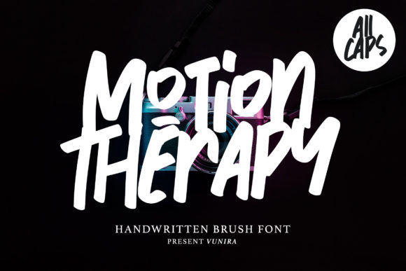 Motion Therapy Font