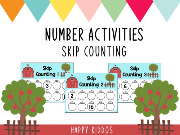 Number Activities Skip Counting Graphic K By Happy Kiddos