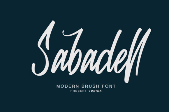 Print on Demand: Sabadell Script & Handwritten Font By Vunira