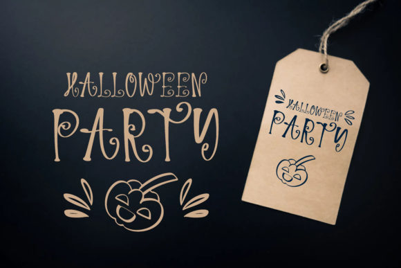 Print on Demand: Spooky Night Script & Handwritten Font By BitongType - Image 3
