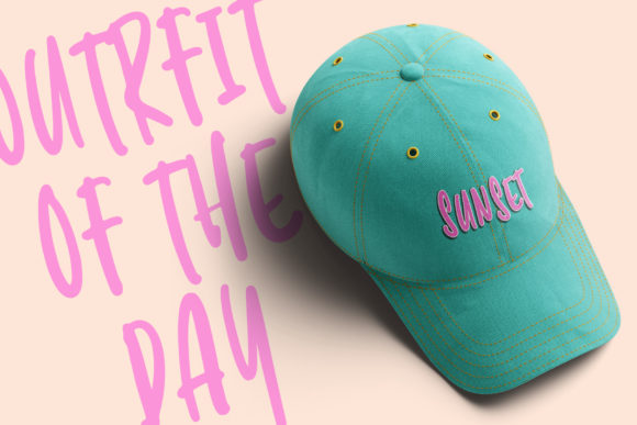 Sunrise Lover Font Item